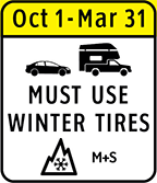 Must Use Winter Tires